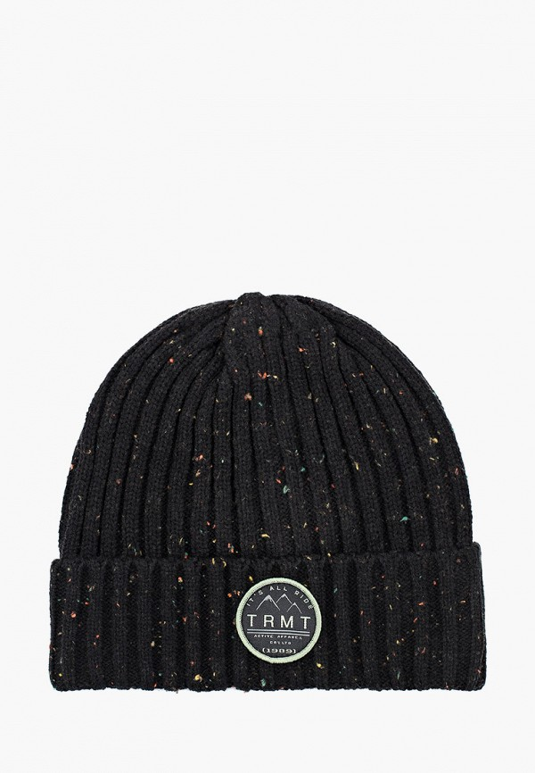 мужская шапка termit, черная