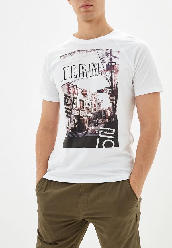 Купить Мужскую футболку Termit белого цвета