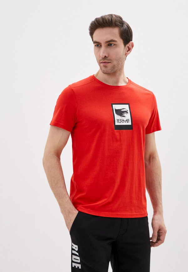 мужская спортивные футболка termit, красная