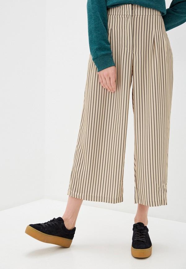 женские брюки termit, бежевые