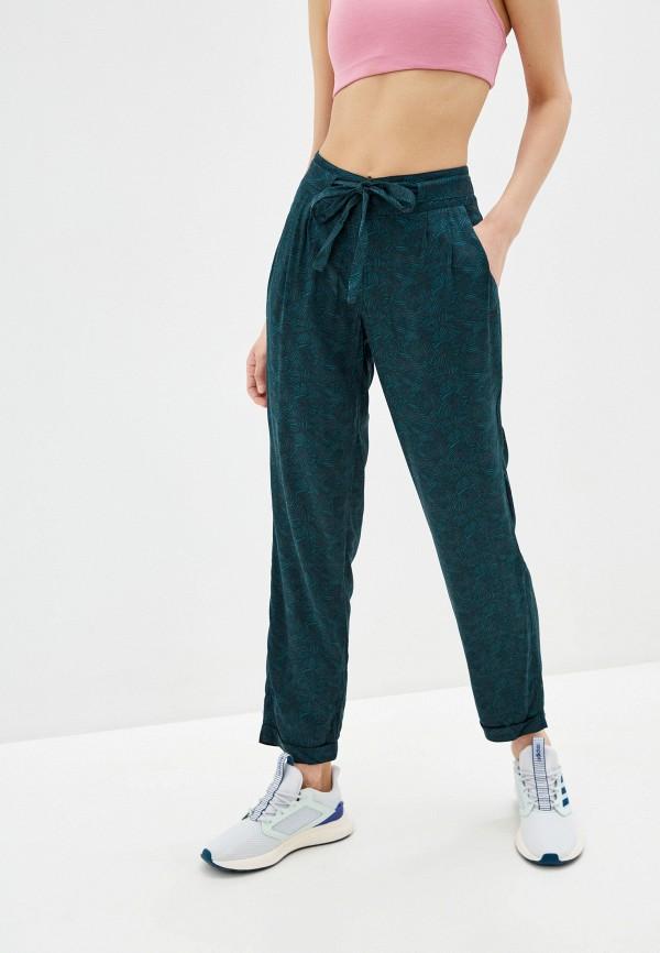 женские спортивные брюки termit, бирюзовые