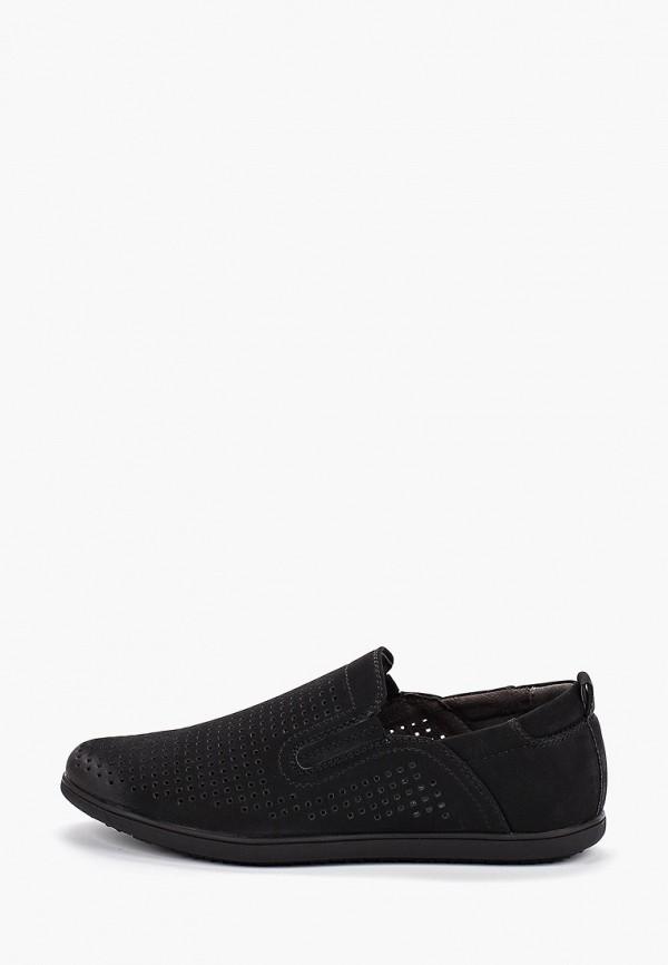 туфли tesoro для мальчика, черные