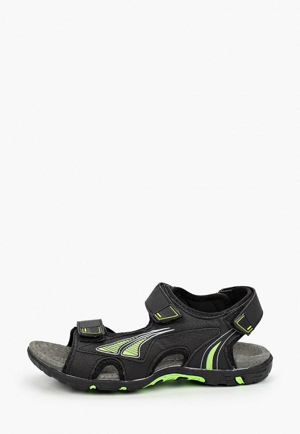 сандалии tesoro для мальчика, черные