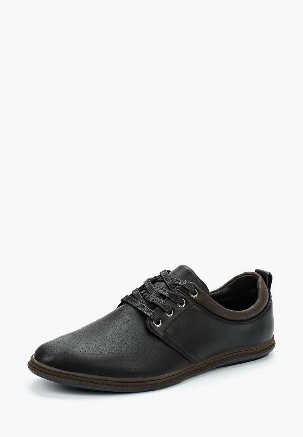 Туфли Tesoro, TE947AMAPUL9, черный, Весна-лето 2018  - купить со скидкой