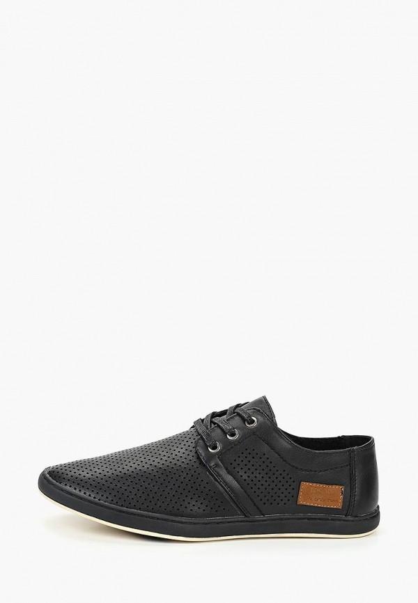 мужские туфли tesoro, черные