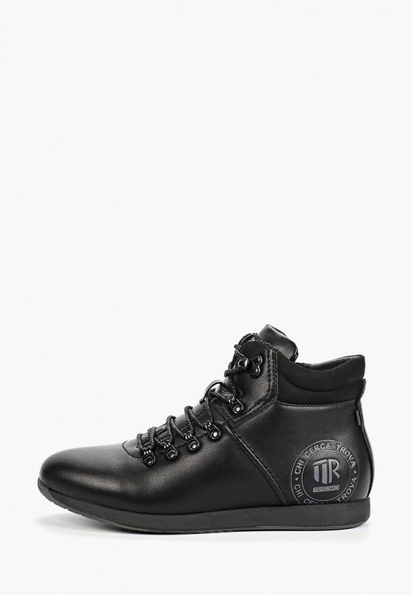 мужские высокие ботинки tesoro, черные