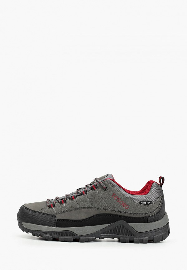 мужские ботинки tesoro, серые