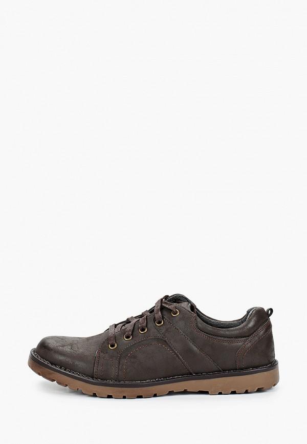 мужские ботинки tesoro, коричневые