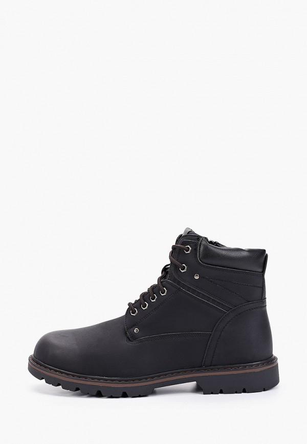 мужские ботинки tesoro, черные