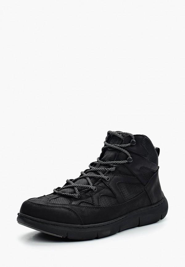 Фото 11 - мужские ботинки и полуботинки Tesoro черного цвета