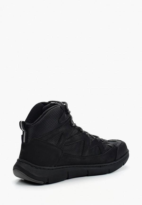 Фото 12 - мужские ботинки и полуботинки Tesoro черного цвета