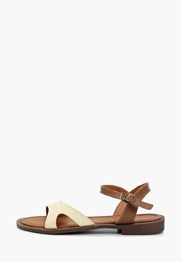 женские сандалии tf's, коричневые
