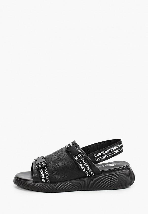 женские сандалии tf's, черные