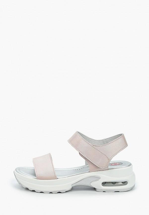женские сандалии tf's, розовые