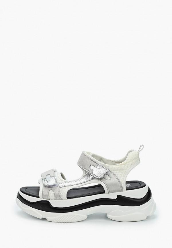 женские сандалии tf's, серые
