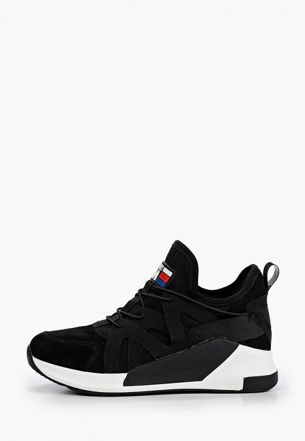 женские кроссовки tf's, черные