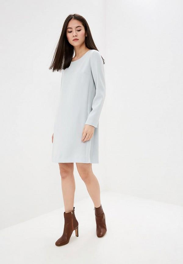 Фото 2 - женское повседневное платье Theory голубого цвета
