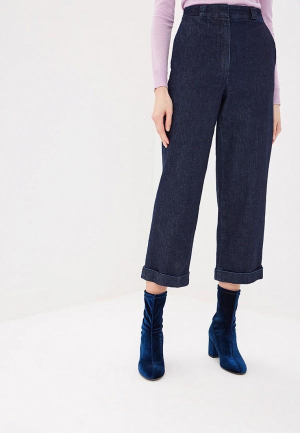 женские джинсы клеш theory, синие