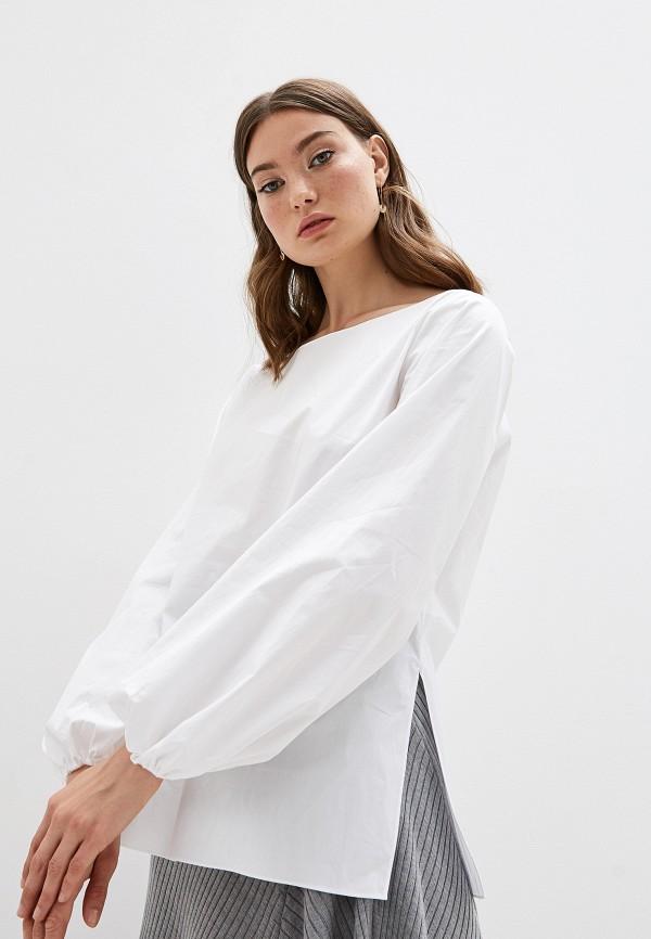 женская блузка theory, белая