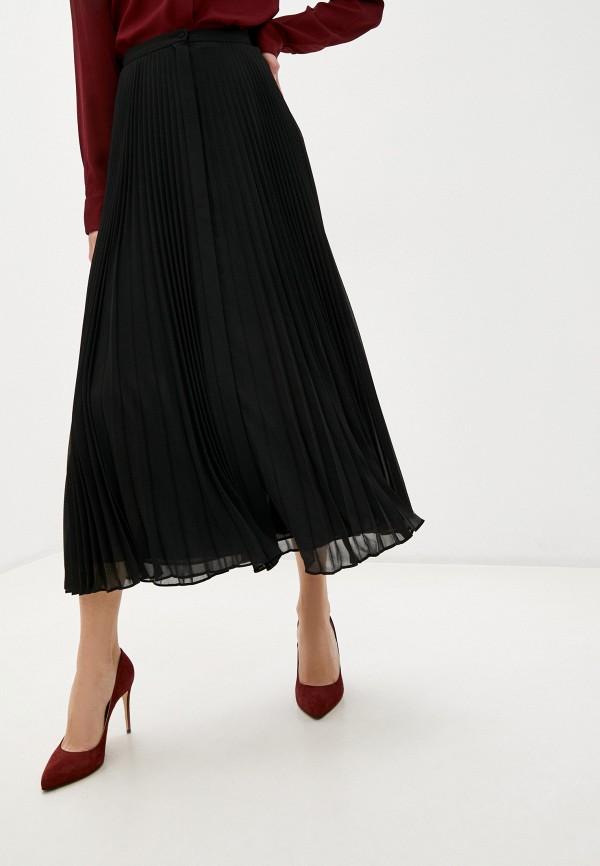 женская юбка theory, черная