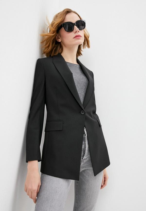 женский пиджак theory, черный