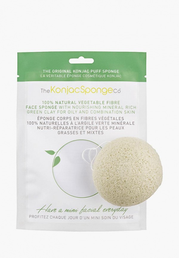 Спонж для очищения лица The Konjac Sponge Co The Konjac Sponge Co TH015LWKHO30 vigan 100 pcs lot high quality melamine sponge magic sponge eraser dish cleaner for kitchen office bathroom cleaning 10x6x2cm