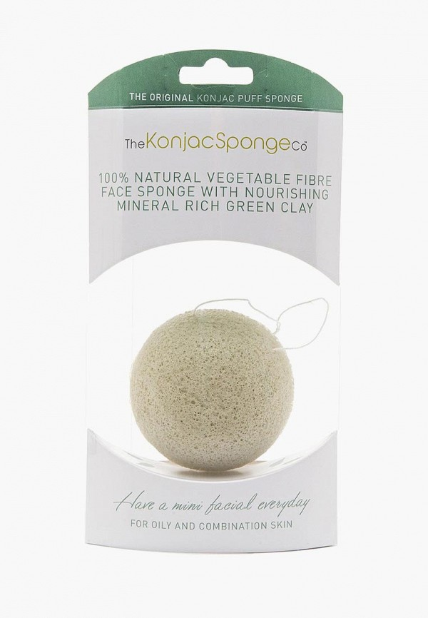 Спонж для очищения лица The Konjac Sponge Co The Konjac Sponge Co TH015LWKHO38 vigan 100 pcs lot high quality melamine sponge magic sponge eraser dish cleaner for kitchen office bathroom cleaning 10x6x2cm