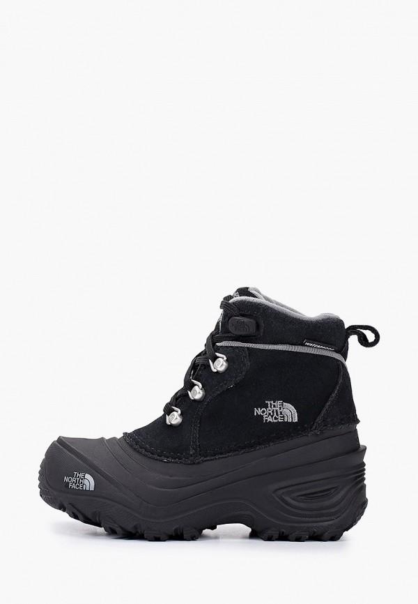 ботинки the north face малыши, черные