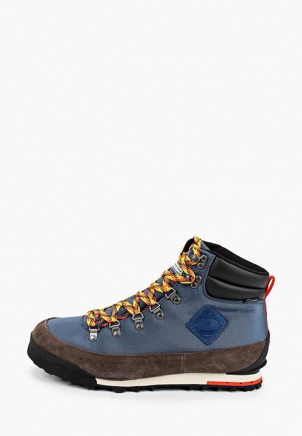 мужские ботинки the north face, синие
