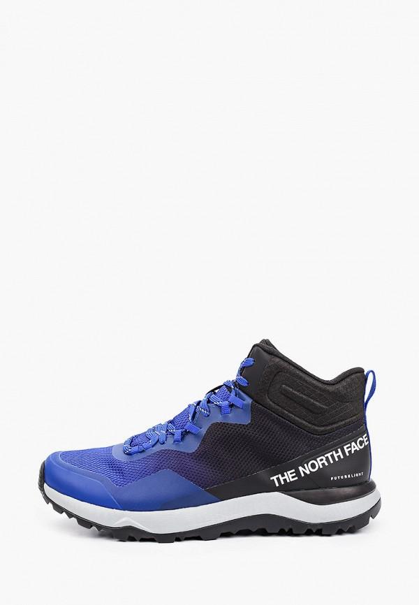 мужские кроссовки the north face, синие