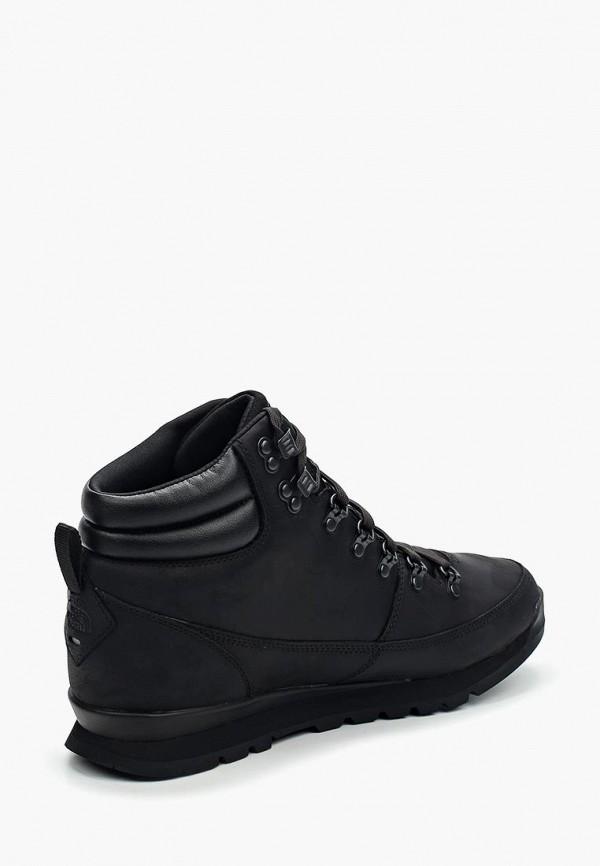 Фото 7 - мужские ботинки и полуботинки The North Face черного цвета