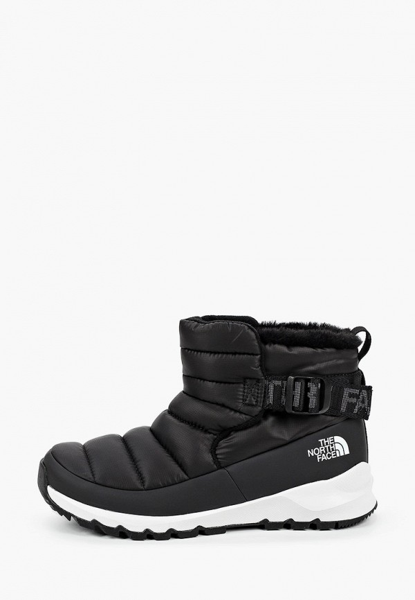 женские низкие ботинки the north face, черные