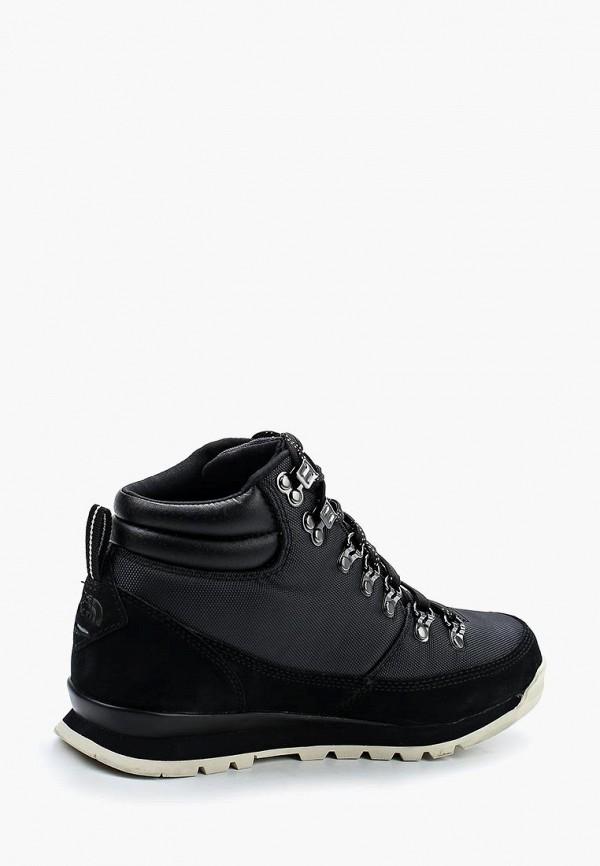 Фото 2 - женские ботинки и полуботинки The North Face черного цвета
