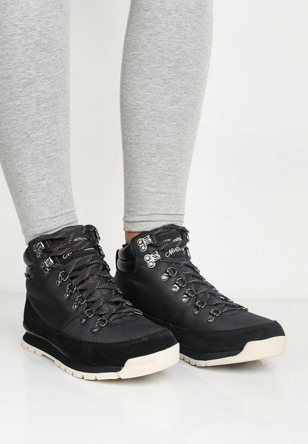 Фото 10 - женские ботинки и полуботинки The North Face черного цвета