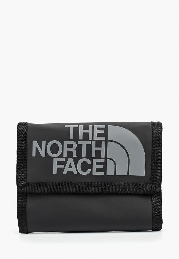женский кошелёк the north face, черный