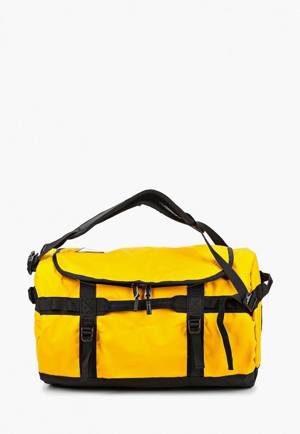 женская сумка the north face, желтая