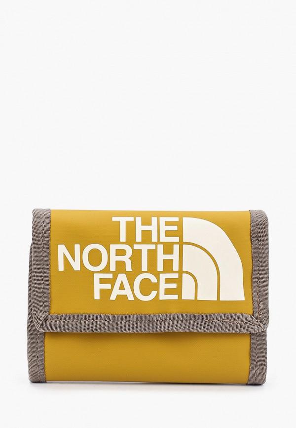 женский кошелёк the north face, коричневый