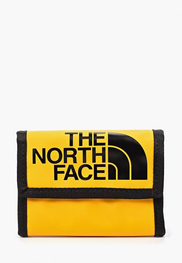 женский кошелёк the north face, желтый
