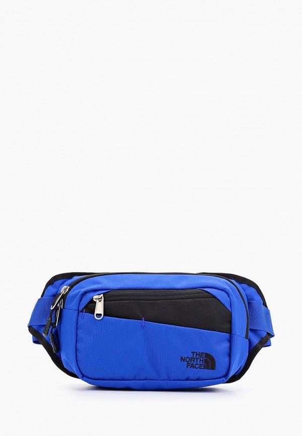 женская сумка the north face, синяя