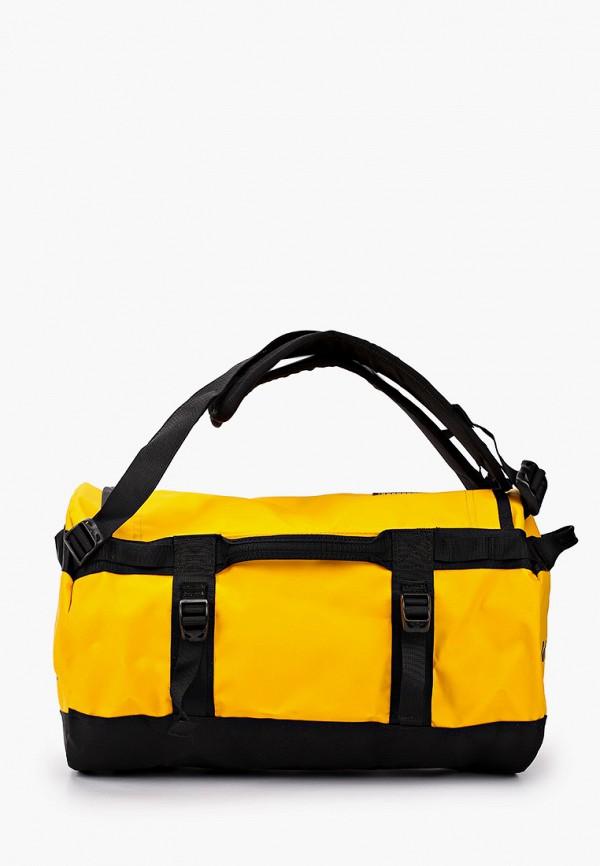 женская спортивные сумка the north face, желтая