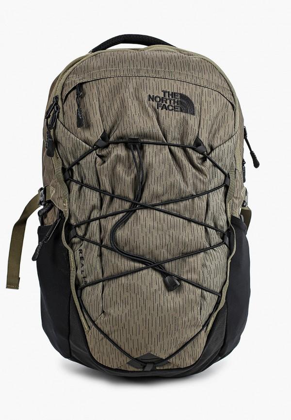 женский рюкзак the north face, хаки