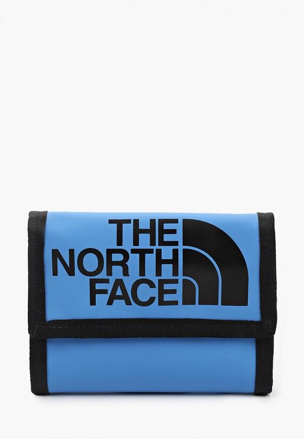женский кошелёк the north face, голубой