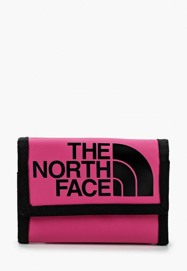 женский кошелёк the north face, розовый