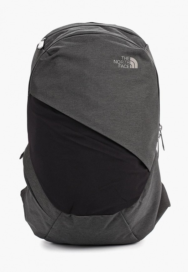 женский рюкзак the north face, серый