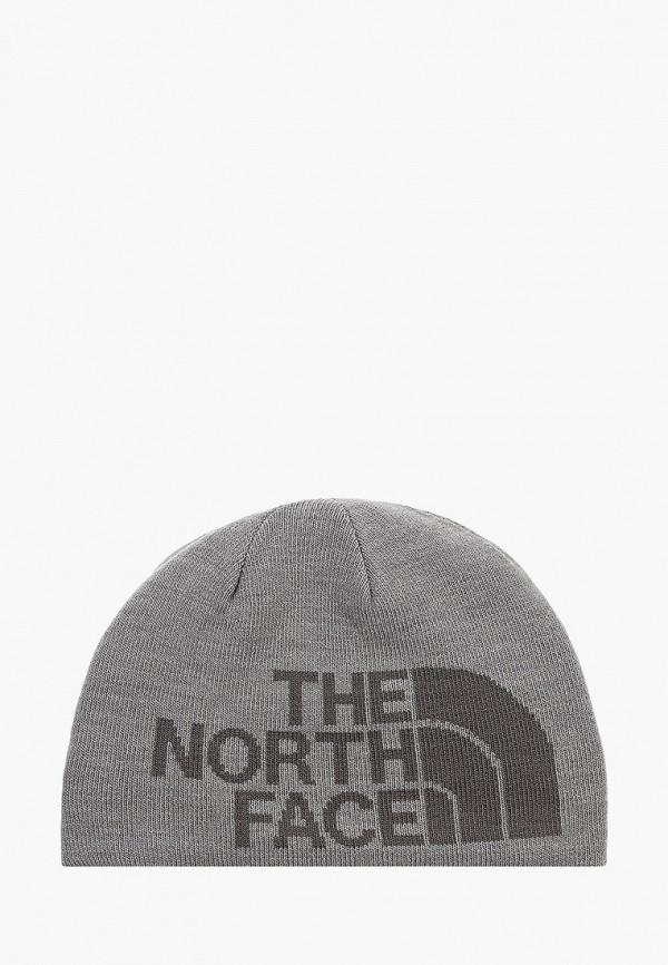 шапка the north face малыши, серая