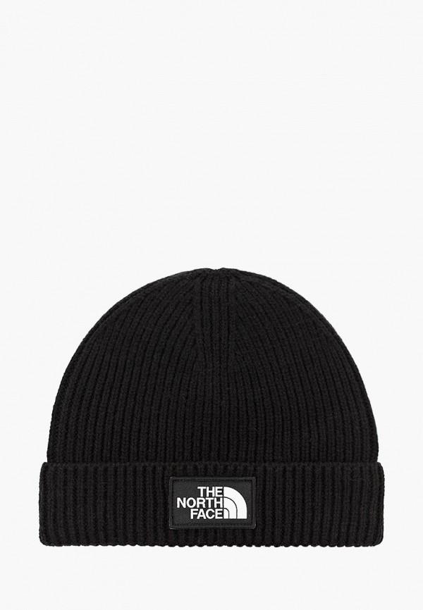 шапка the north face малыши, черная