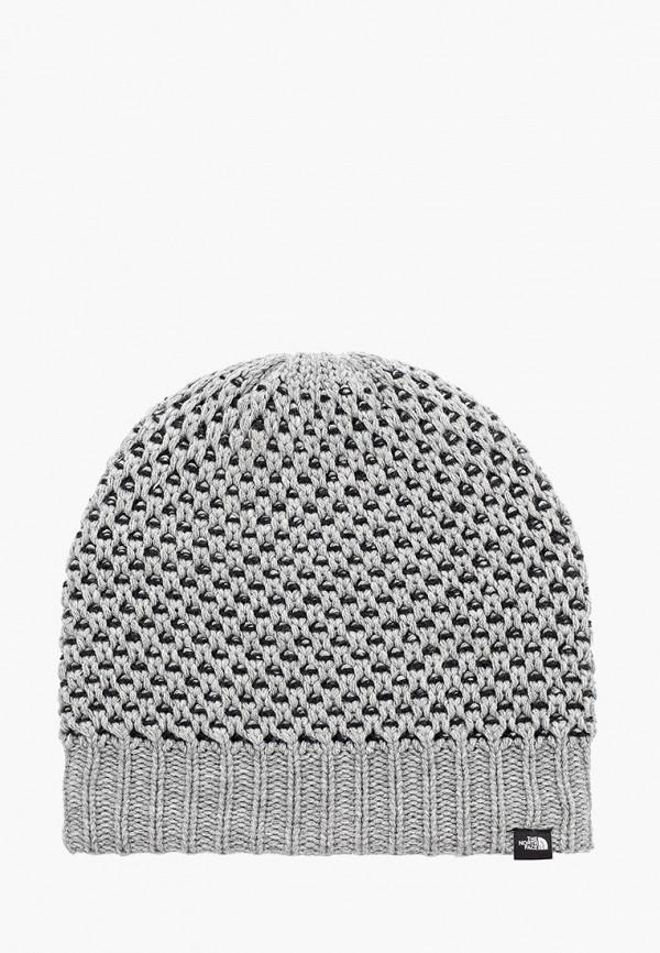 Купить Шапку The North Face серого цвета
