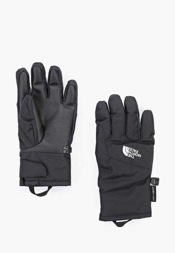 перчатки the north face малыши, черные