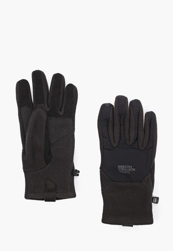 мужские перчатки the north face, черные