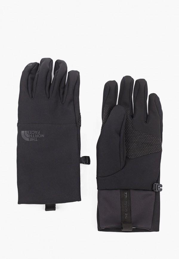 женские перчатки the north face, черные